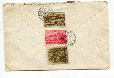 MAĎARSKO - OBÁLKA DO VÍDNĚ 1938 /AL - 23