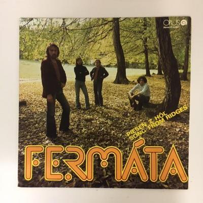 Fermáta – Pieseň Z Hôľ - LP vinyl