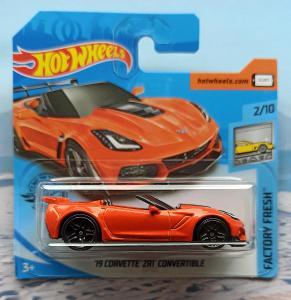 Corvette ZR1 Convertible 2019 HotWheels