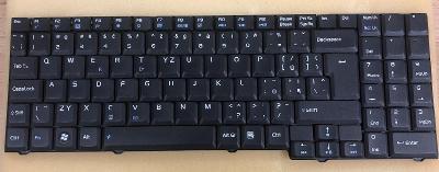 Klávesnice z notebooku Asus M70V CZ