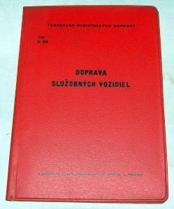 ČSD D2/8 DOPRAVA SLUŽOBNÝCH VOZIDIEL 1982 VLAK KOLEJE ŽELEZNICE