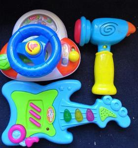 Sada dětských hraček na baterky.... (10897)