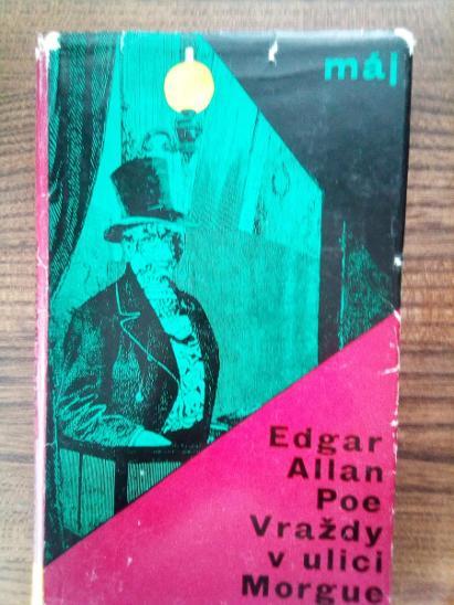 Edgar Allan Poe Vraždy v ulici Morgue  - Knihy