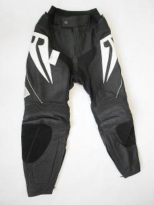 Kožené kalhoty dámské- vel. 40/L, pas: 72 cm