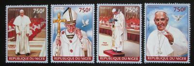 Niger 2014 Papež František Mi# 2722-25 Kat 12€ 1954