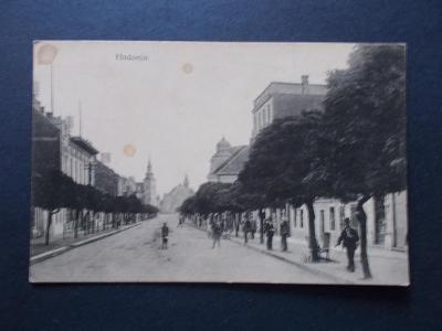 Hodonín Göding  živá ulice