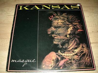 Kansas  – Masque  (1977) 1.Press , EX