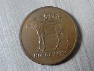 5 ORE 1964, Norsko.
