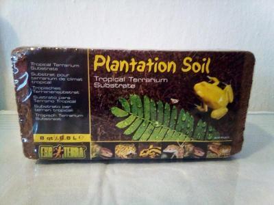 Plantation soil substrát z lisovaných slupek kokosu