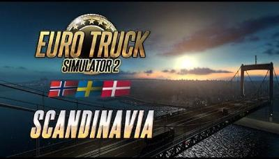 Euro Truck Simulator 2 Scandinavia (digitální klíč) (Steam)