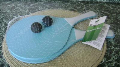 Plážová sada - 2 ks pálky a míčky - nové