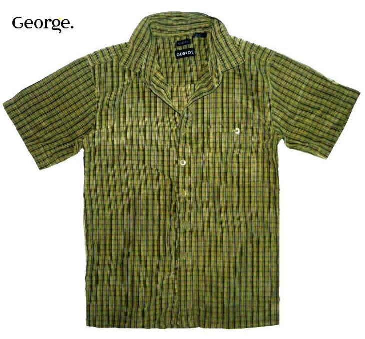 GEORGE chlapecká košile, vel. 9 - 10 let - Oblečení
