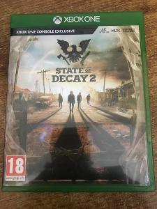STATE OF DECAY 2 - ZÁRUKA 2 ROKY -  XBOX ONE