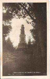 HRÁDEK - pomník Jana Koziny - Chodsko - Domažlice