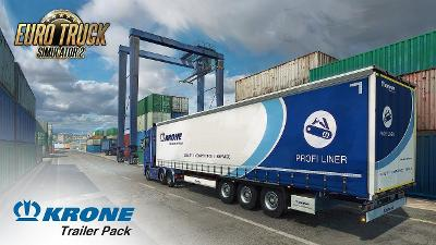 Euro Truck Simulator 2 Krone Trailer Pack (digitální klíč) (Steam)