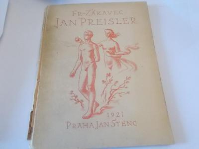 Jan Preisler (František Žákavec) / vydal Jan Štenc 1921