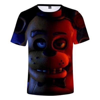 Five Nights At Freddy's - dětské tričko s 3D potiskem, různé velikosti