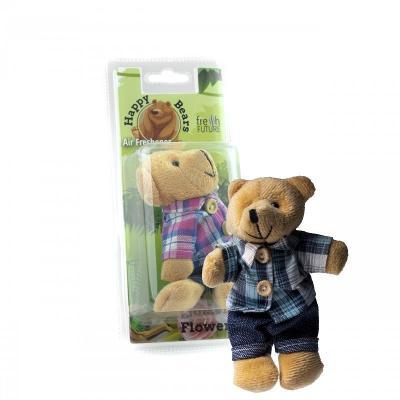 Osvěžovač vzduchu do auta - Happy Bear Mister (květinový)