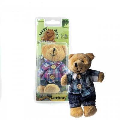 Osvěžovač vzduchu do auta - Happy Bear Mister (citron)