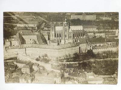 Praha - Hradčany - letecký 1922