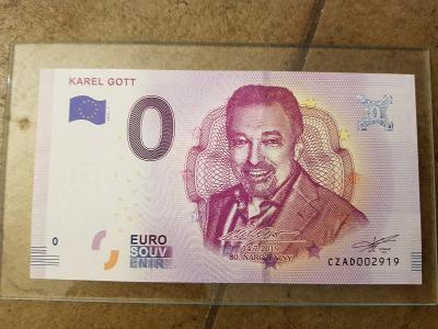 0 euro Karel Gott