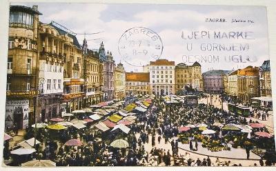 Chorvatsko - Zagreb - Jelačičev trg 1928