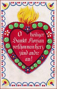 Srdce * láska, báseň, nápis, ornament, gratulační * M1544