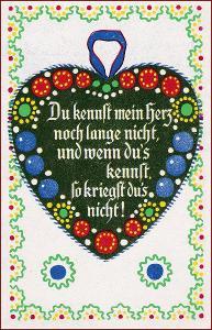Srdce * láska, báseň, nápis, ornament, gratulační * M2142