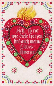Srdce * láska, báseň, nápis, ornament, gratulační * M1183