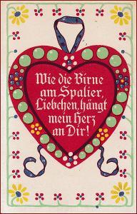 Srdce * láska, báseň, nápis, ornament, gratulační * M1195