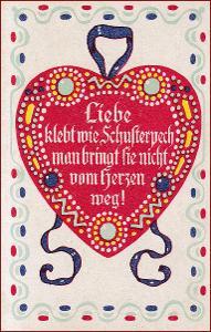 Srdce * láska, báseň, nápis, ornament, gratulační * M1214