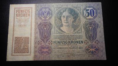 50 korun 1914,pekny stav