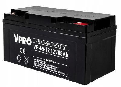 Baterie Akumulátor 12V 65Ah