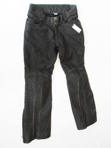 Kožené kalhoty dámské HELD- vel. 38/M, pas: 82 cm