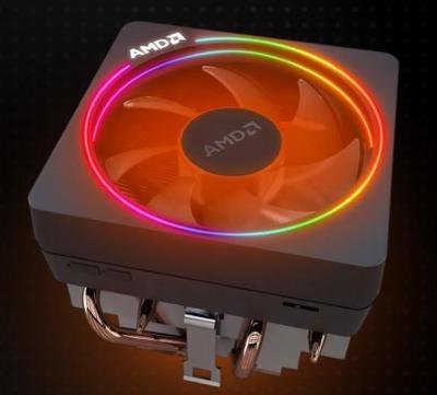 AMD Wraith Prism cooler RGB led, chladič pro socket AM4, nový