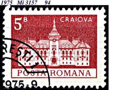 Rumunsko  1975, radnice Craiova