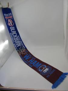Šála futbol FC Blackburn ( Anglie )- West Ham ( Anglie ) 2016 rok