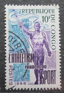 Kongo 1966 Atletika Mi# 100 1961