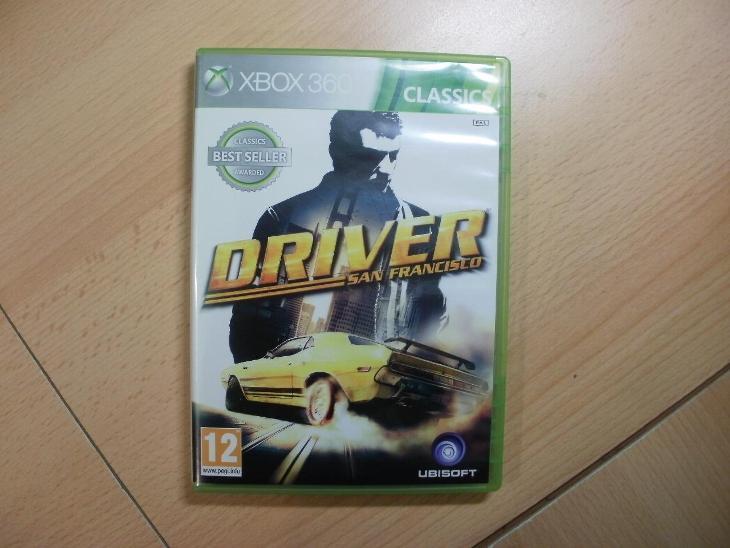 Hra Na Xbox 360 Xbox One Driver San Francisco Anglicky Manual Aukro