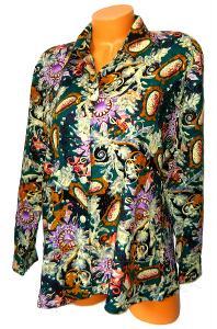 Vzorovaná dámská košile, vel. 42/44
