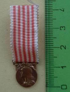 Pamětní medaile 1914 - 1918 - MINIATURA, Francie, MORLON