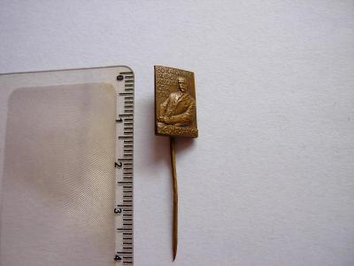 Odznak - 80. Narodeniny T.G. Masaryka 1930
