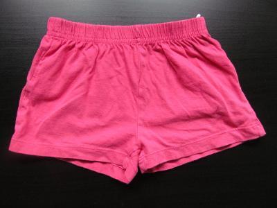 Dívčí růžové kraťasy, vel. 104