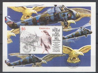 ** GRENADA aršík letadlo dravec. RAF 1998