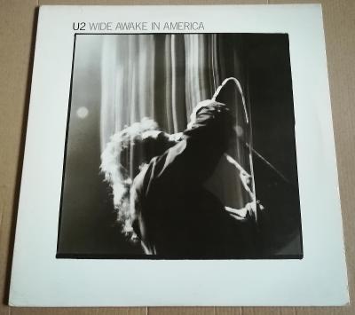 LP U2-WIDE AWAKE IN AMERICA/EX+, 1985,USA.
