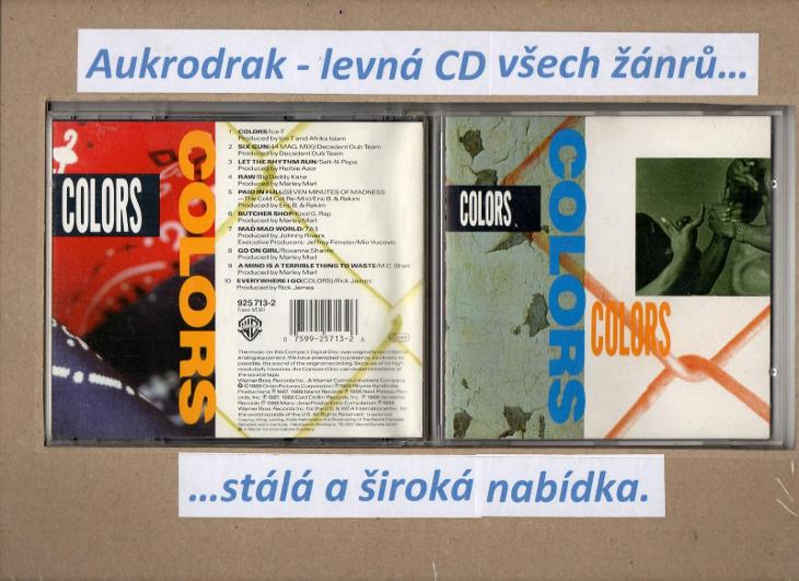 CD/Colors  - Hudba