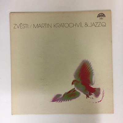 Martin Kratochvíl & Jazz Q – Zvěsti - LP vinyl