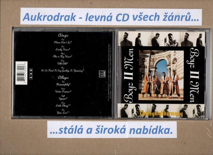 CD/Boyz II Men-Cooleyhighharmony - Hudba