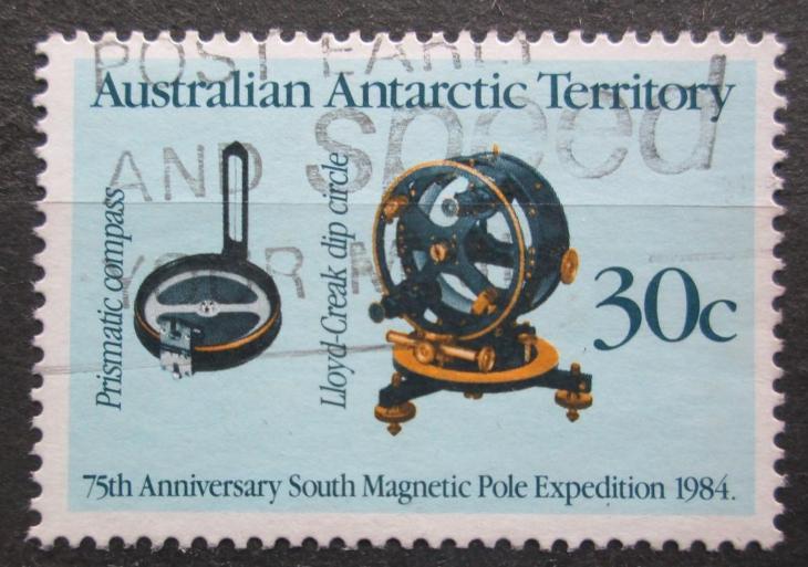 Australská Antarktida 1984 Přístroje Mi# 61 1967 - Filatelie