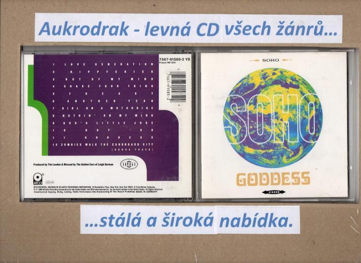 CD/Soho-Goodess - Hudba